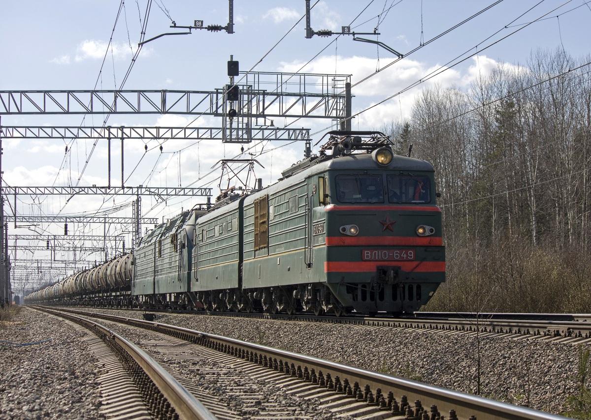 Санкт-Петербург. ВЛ10-649