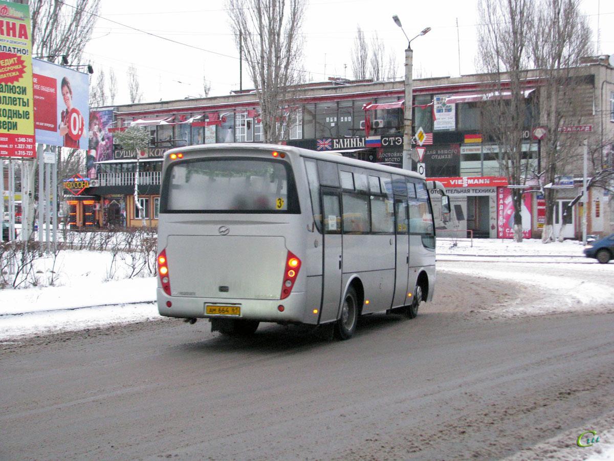 Таганрог. Higer KLQ6720B ам664