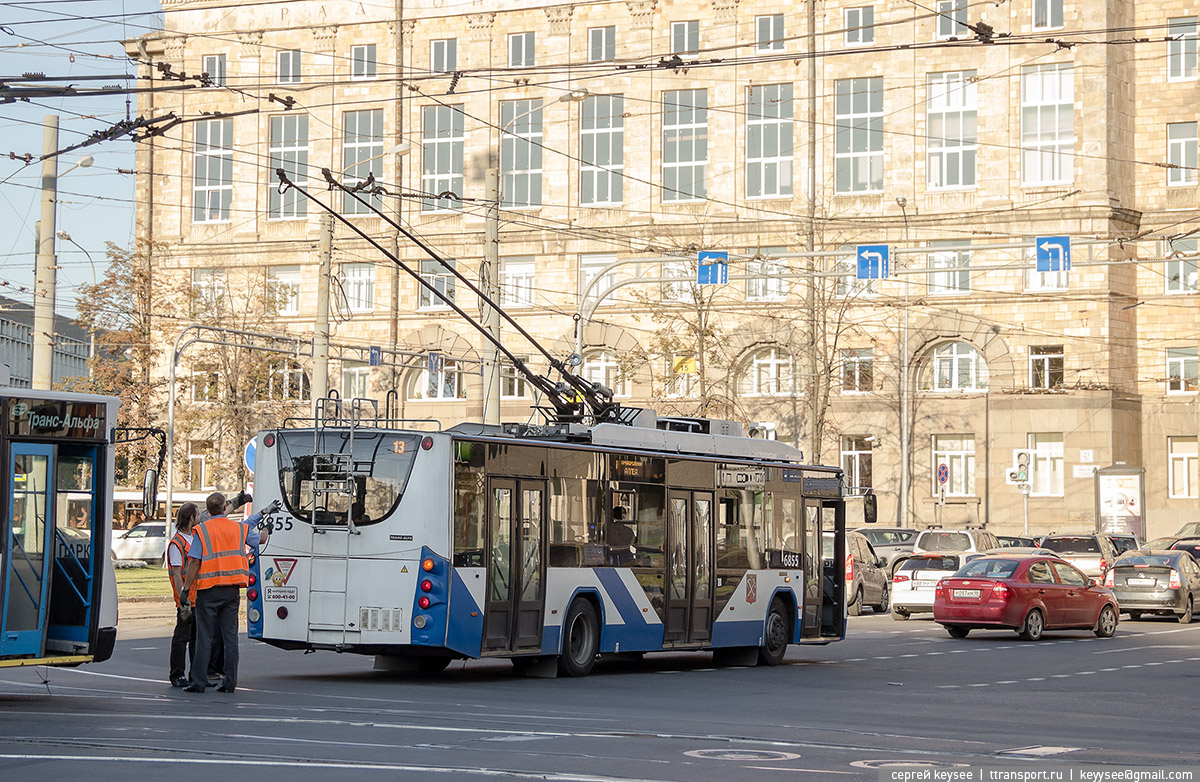 Санкт-Петербург. ВМЗ-5298.01 №6855