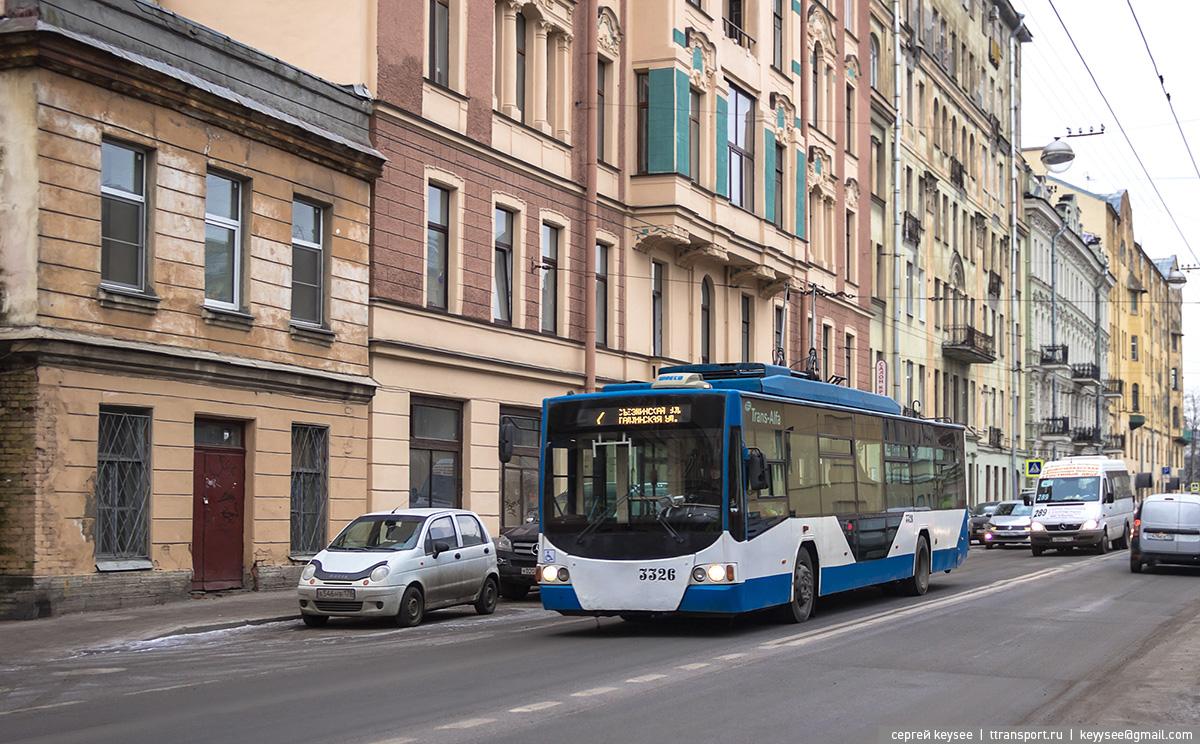 Санкт-Петербург. ТролЗа-5265.00 №3326