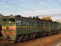 Хабаровск. 2ТЭ10В-4814