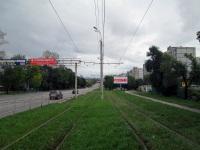 Хабаровск. Перегон Улица Большая - улица Беломорская на линии маршрута № 6