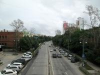 Хабаровск. Троллейбусная линия на момент съёмки использовалась маршрутами №№ 2 и 5