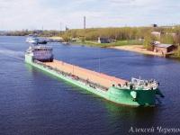 Череповец. Комбинированное судно-площадка/танкер Балт Флот 1 дедвейтом 5589 тонн и мощностью 2400 кВт