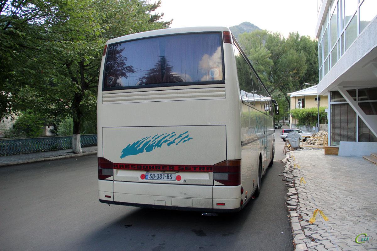 Боржоми. Setra S315HD SB-381-BS