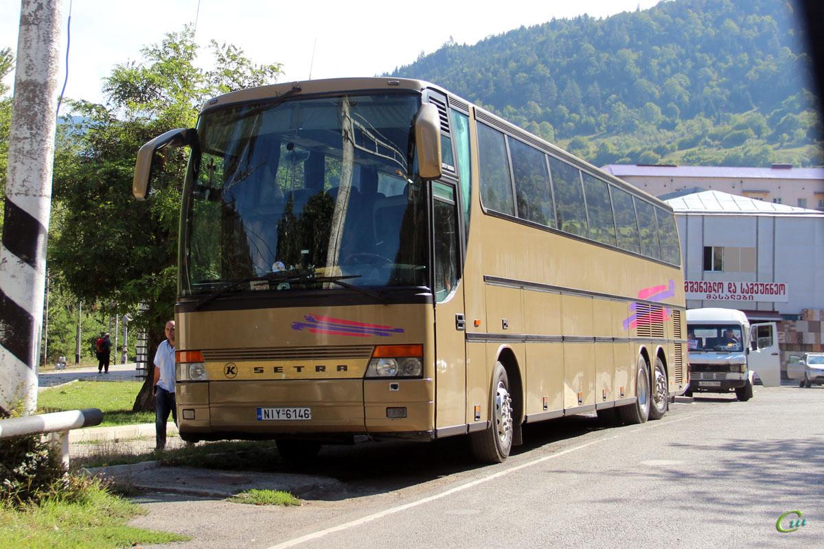 Боржоми. Setra S317HDH NIY-6146, Mercedes T1 MAH-786