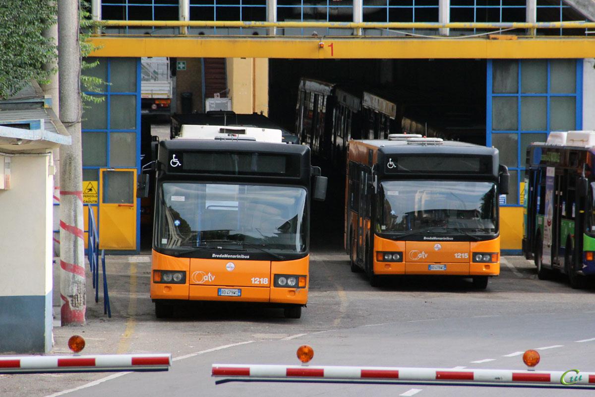 Верона. BredaMenarinibus M240 BD 479WC, BredaMenarinibus M240 BD 478WC