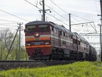 Санкт-Петербург. 2ТЭ116К-571