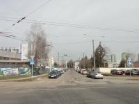 Минск. Служебная линия в окрестностях 4 троллейбусного парка, вид в сторону улицы 3 Сентября