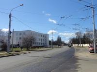 Минск. Служебная линия в окрестностях 4 троллейбусного парка, вид со стороны 1-ого Загородного переулка