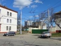 Минск. Выезд из 4 троллейбусного парка на улице Пинской
