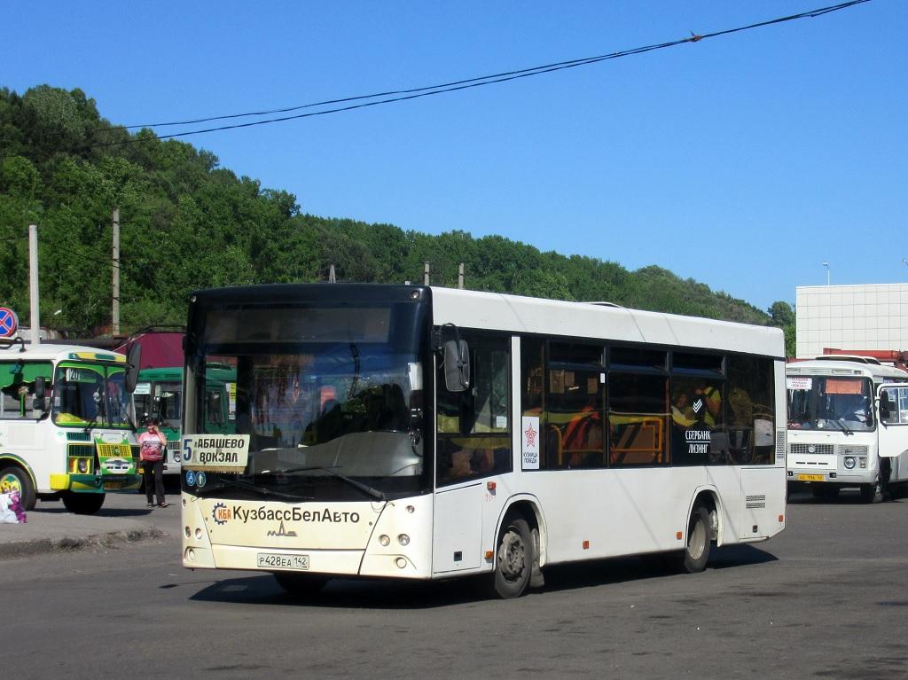 Новокузнецк. МАЗ-206.068 р428еа