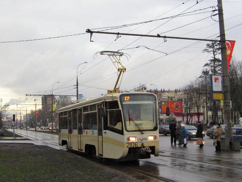 Москва. 71-619КТ (КТМ-19КТ) №2106