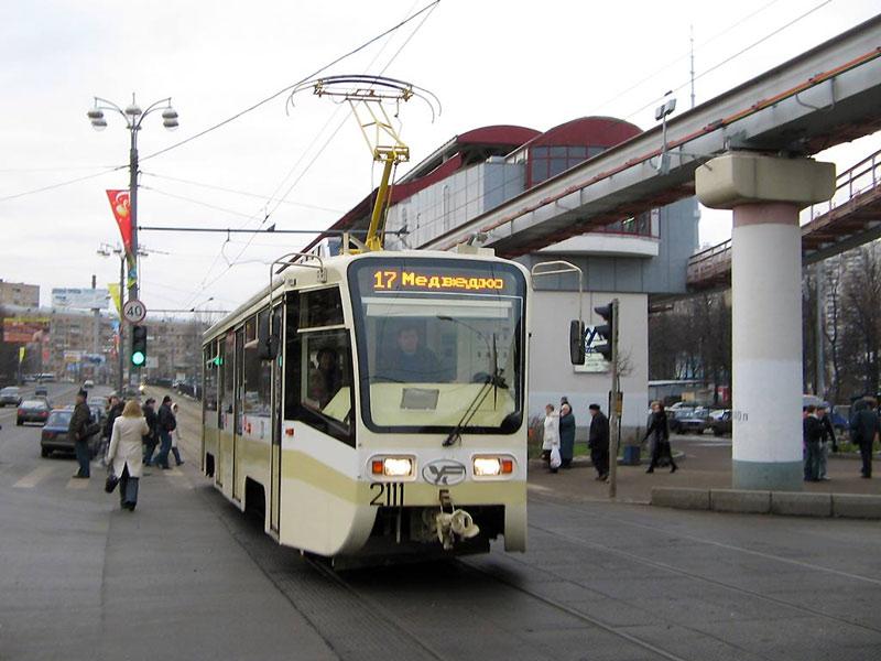 Москва. 71-619КТ (КТМ-19КТ) №2111