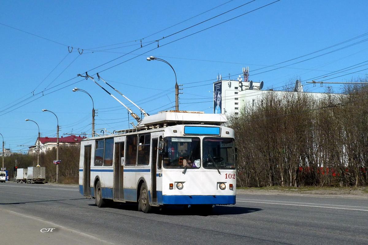 Мурманск. ЗиУ-682 КР Иваново №102