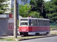 Николаев. Трамвай 71-605 (КТМ-5) № 1089, маршрут 6 Ц