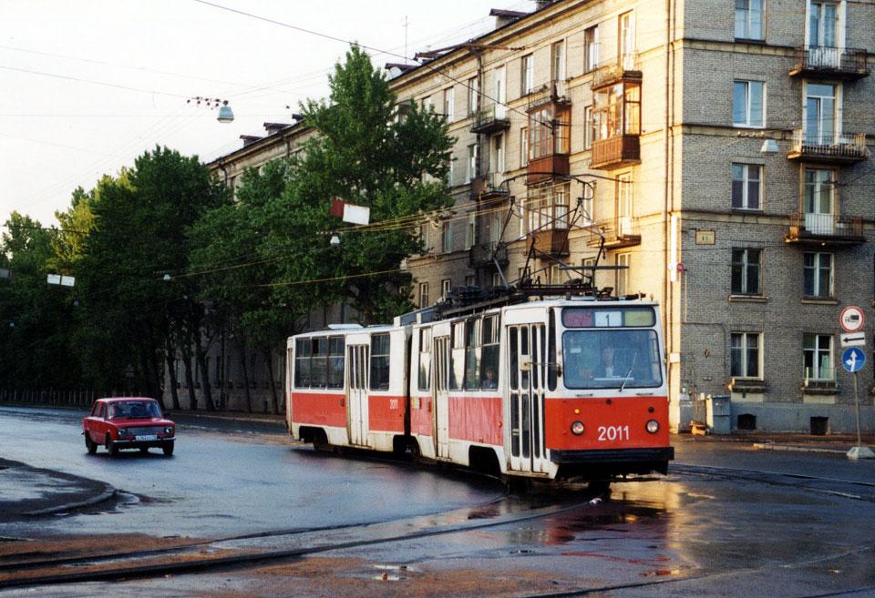 Санкт-Петербург. ЛВС-86К №2011