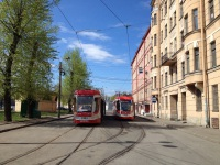 Санкт-Петербург. 71-631-02 (КТМ-31) №7402, 71-631 (КТМ-31) №7421