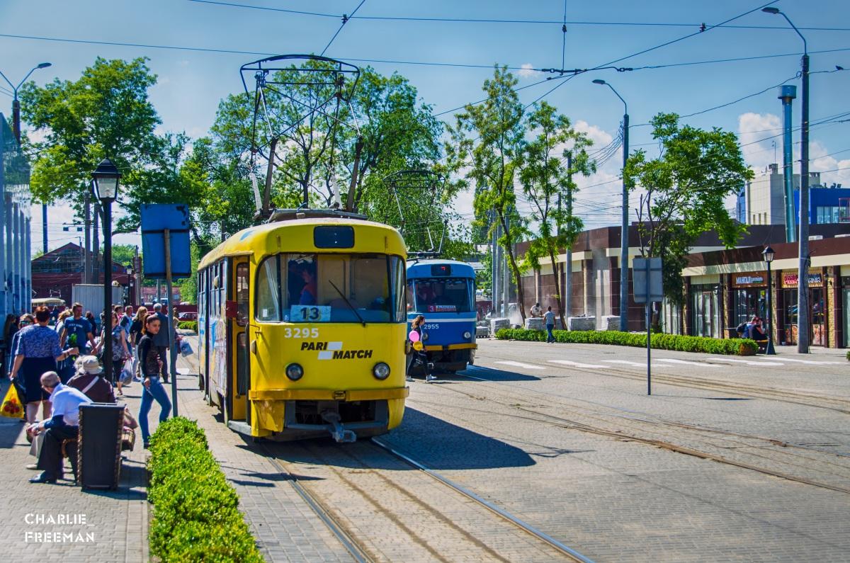 Одесса. Tatra T3SU №3295