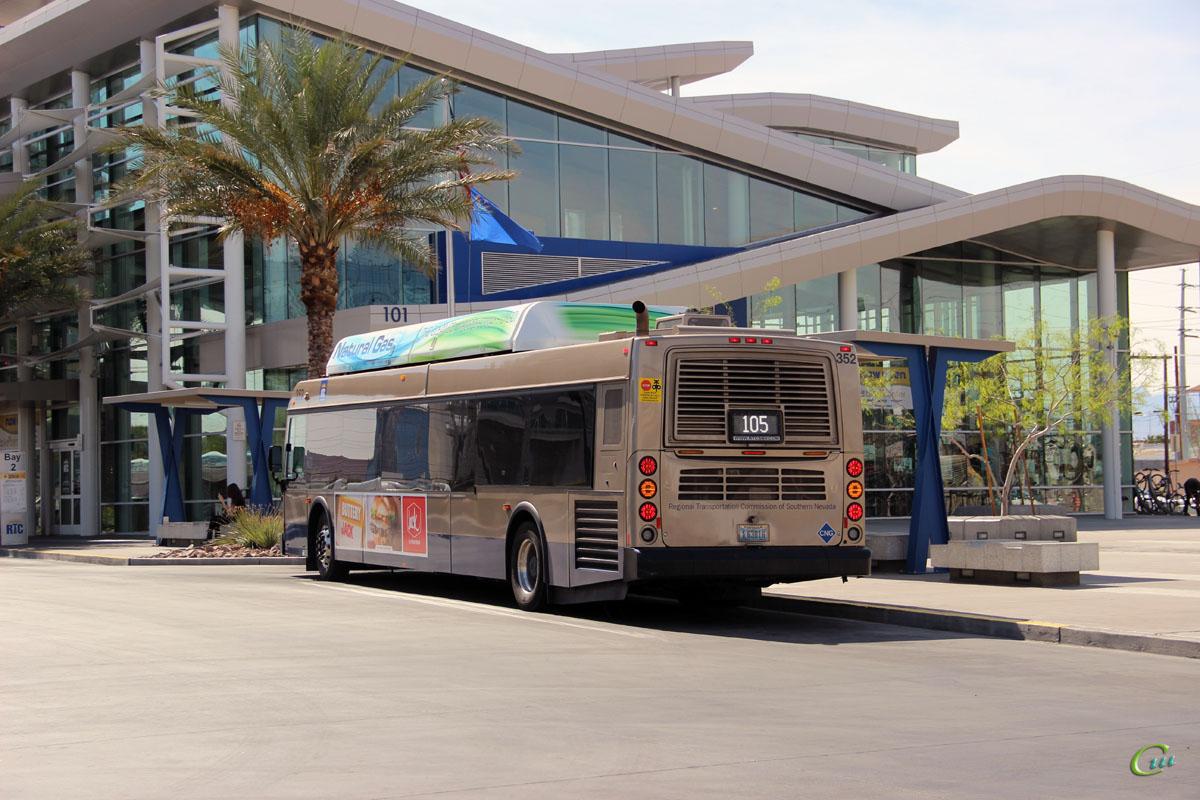 Лас-Вегас. New Flyer C40LFR EX 63016