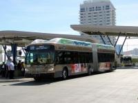 Лас-Вегас. New Flyer XN60 EX 63473