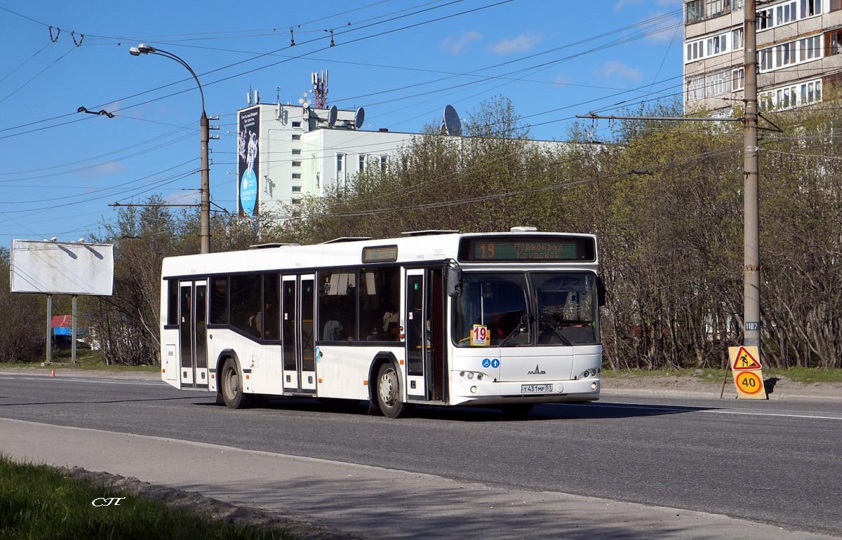 Мурманск. МАЗ-103.485 т431мр