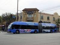 Лос-Анджелес. NABI 60-BRT №5320