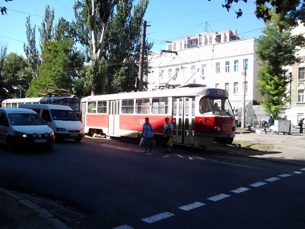 Днепропетровск. Tatra T3SU №1277