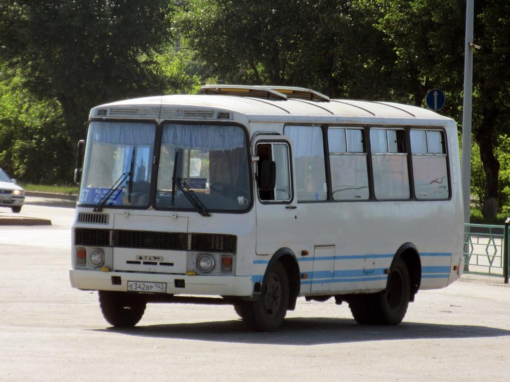 Киселёвск. ПАЗ-32054 е342вр