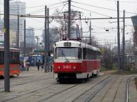 Москва. Tatra T3 (МТТЧ) №3463