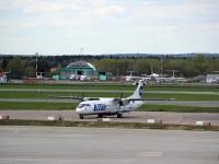 Москва. Самолет ATR 72 (VQ-BLL) авиакомпании UTair