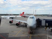 Москва. Самолет Boeing 747-400 (EI-XLH) Казань авиакомпании Россия