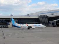 Москва. Самолет Boeing 737-800 (A6-FDX) авиакомпании FlyDubai