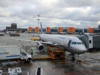 Москва. Самолет Airbus A321 (VP-BDC) В