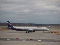 Москва. Самолет Airbus A321 (VP-BTG) Константин Станиславский авиакомпании Аэрофлот