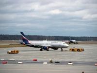 Москва. Самолет Airbus A320 (VQ-BBB) Юрий Гагарин авиакомпании Аэрофлот