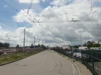 Минск. Территория неиспользуемой бывшей троллейбусной Д/С Ангарская-3