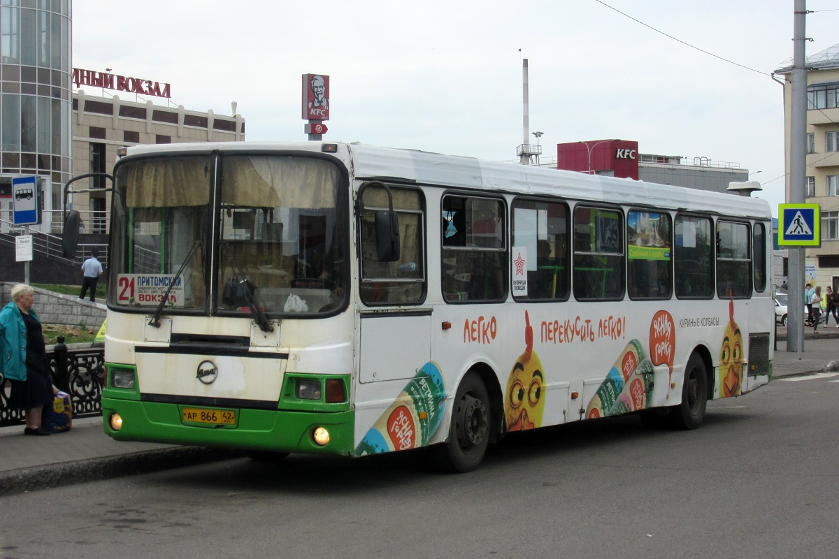 Новокузнецк. ЛиАЗ-5256.35 ар866