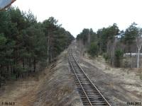 Тверь. Вид с семафора в направлении станции Дорошиха