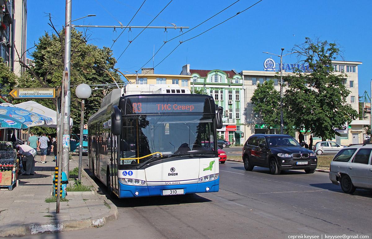 Варна. Škoda 26Tr Solaris №310