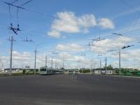 Минск. Общий вид на троллейбусную часть диспетчерской станции Сухарево-5