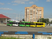 Минск. Общий вид на автобусную часть диспетчерской станции Запад-3