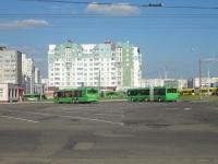 Минск. Общий вид на автобусную часть диспетчерской станции Кунцевщина