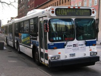 Нью-Йорк. New Flyer D60 K-13550