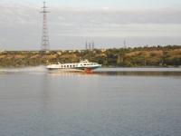Теплоход на подводных крыльях Нибулон Экспресс 3, тип Полесье, маршрут Николаев - Очаков - Кинбурнская Коса