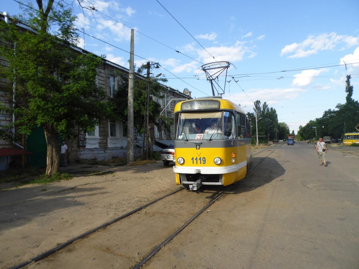 Николаев. Tatra T3M.03 №1119