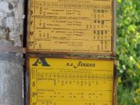 Псков. Автобусные маршрутные указатели