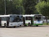 Псков. ЛиАЗ-5256.26 ав629, Mercedes-Benz O345G аа456