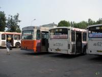 Псков. Hess (Volvo B10M-C) ав127, Mercedes O345G ав328