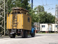 Варна. Вышка контактной сети на базе ЗИЛ-130